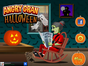Angry Gran Halloween для iphone / ipad