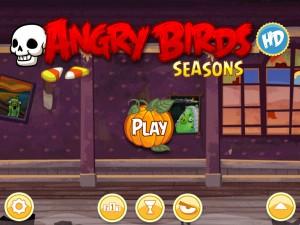 Игра Angry Birds Halloween для iPad