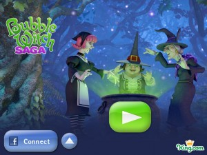 Игра Bubble Witch Saga для iPad