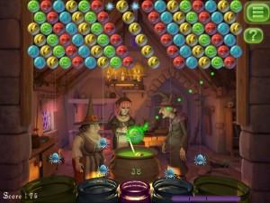 Игра Bubble Witch Saga для iPhone