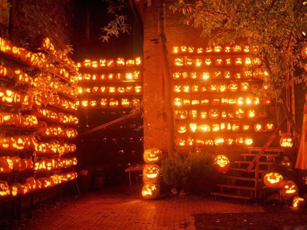 Тысяча тыкв - хеллоуин