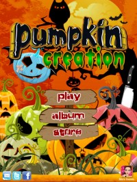 Создаем тыкву на хелоуин - игра для ipad