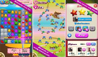Скриншоты к игре Candy Crush Saga