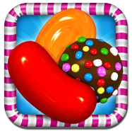 Игра Candy Crush Saga для iPhone/iPad