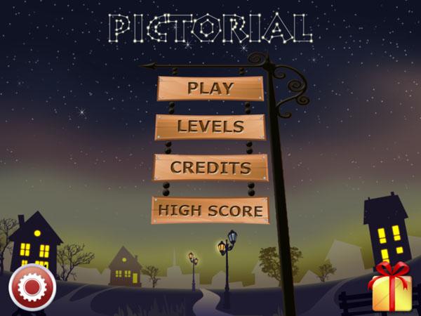 меню игры  Pictorial для iPad
