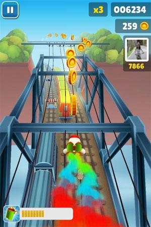 Игра Subway Fly для iPhone