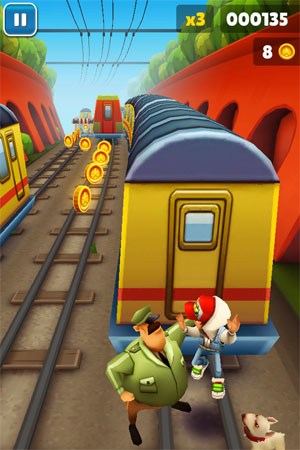 Игра Subway Fly для iPad