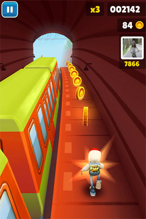 Игра Subway Fly для iOS