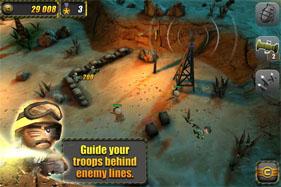 Скриншот игры Tiny Trooper