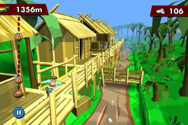 Игра Pitfall для iPad