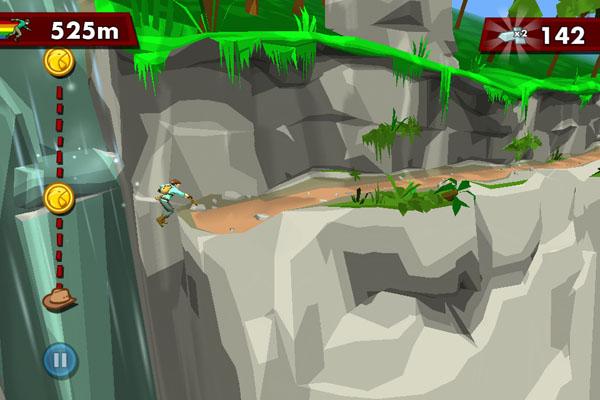 Аркада Pitfall для iOS
