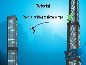 Игра Rope n Fly для iPad