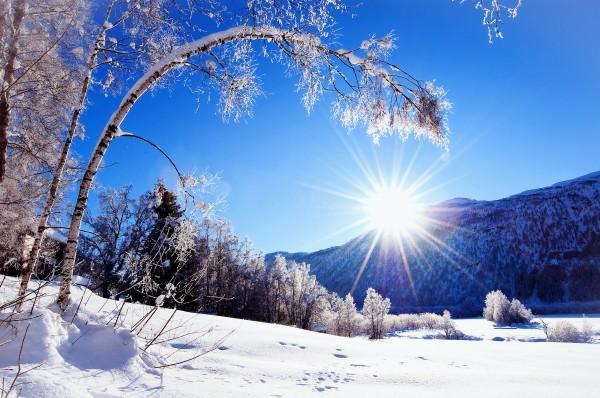Заставка Зима в феврале