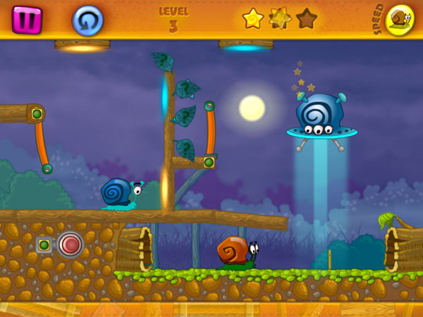 уровни игры Snail Bob для iPhone