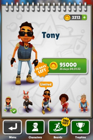 Subway Surfers в Нью-Йорке iphone