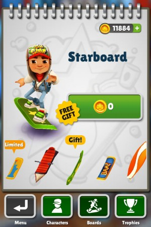 игра Subway Surfers в Нью-Йорке для iOS