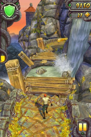 temple run - waterfall