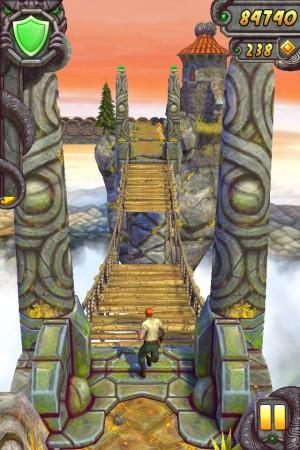 temple run - мост