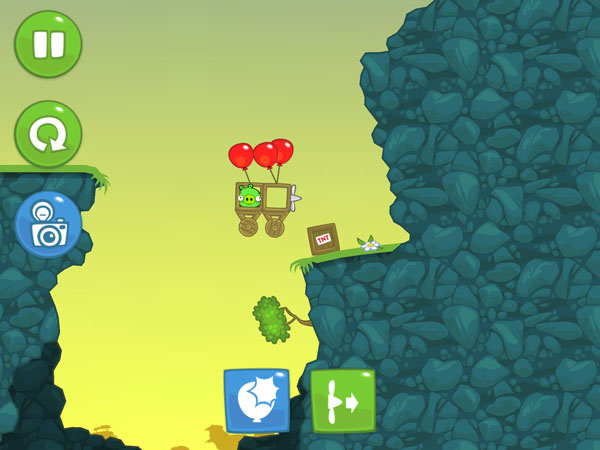уровни игры Bad Piggies для iOS