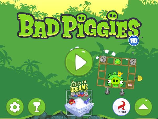 уровни игры Bad Piggies для iPad