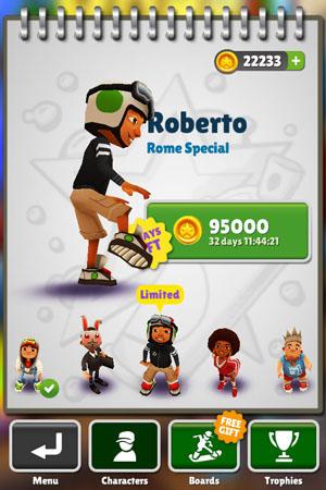 новый персонаж - Роберто