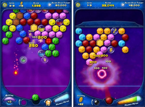 уровни игры Bubble Bust для  iPad