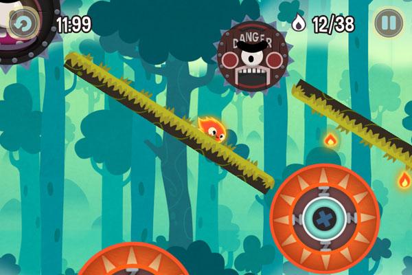 уровни игры Pyro Jump для iOS