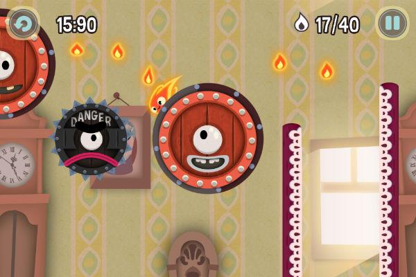 уровни игры Pyro Jump для iPad